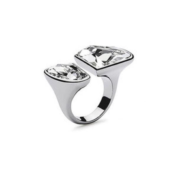 4002d47ce43d2 Atelier Swarovski Neva Open Ring